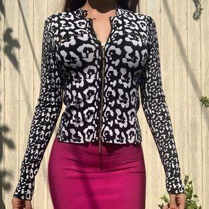 MARCIANO leopard jacket